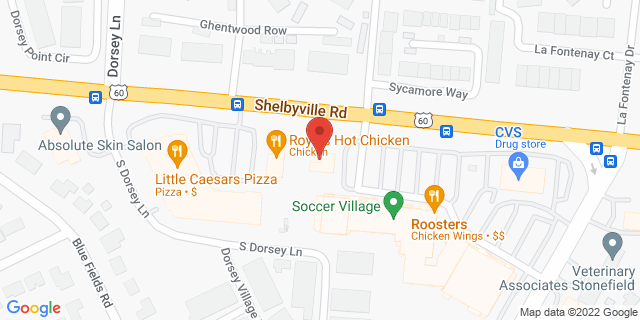 Fifth Third Bank Louisville 10400 SHELBYVILLE ROAD 40223 on Map