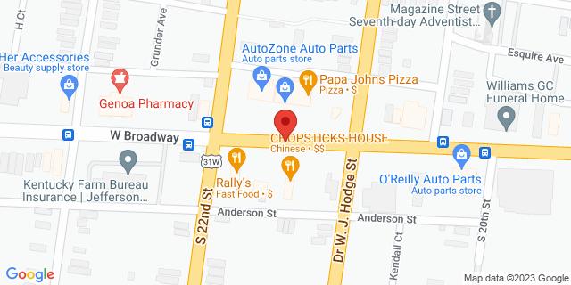 ACE Cash Express Louisville 2113 W Broadway 40211 on Map