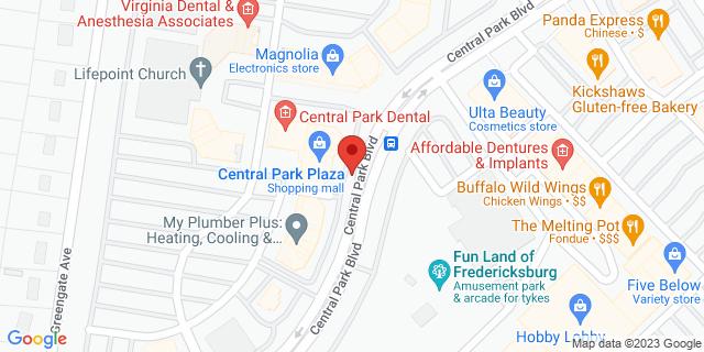 M&T Bank Fredericksburg 1420 Central Park Blvd, Ste 208 22401 on Map