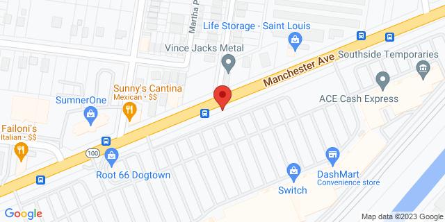 ACE Cash Express Saint Louis 6528 Manchester Ave 63139 on Map