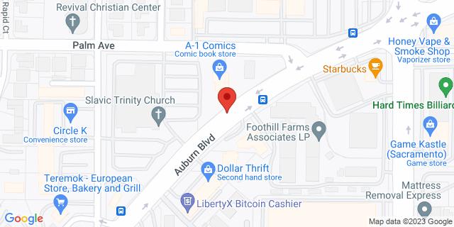 ACE Cash Express Sacramento 5427 Auburn Blvd 95841 on Map