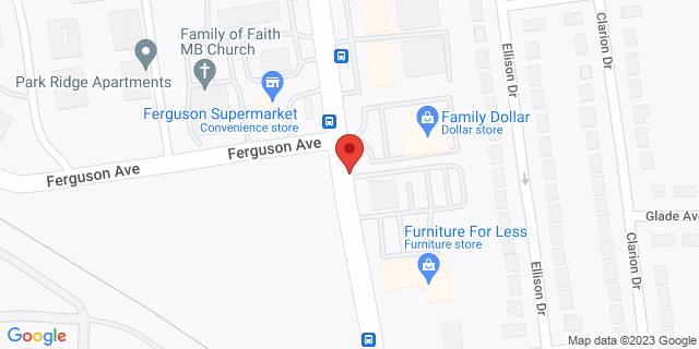 ACE Cash Express Saint Louis 9144 W Florissant Ave 63136 on Map