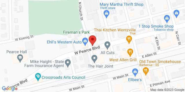 ACE Cash Express Wentzville 119 W Pearce Blvd 63385 on Map