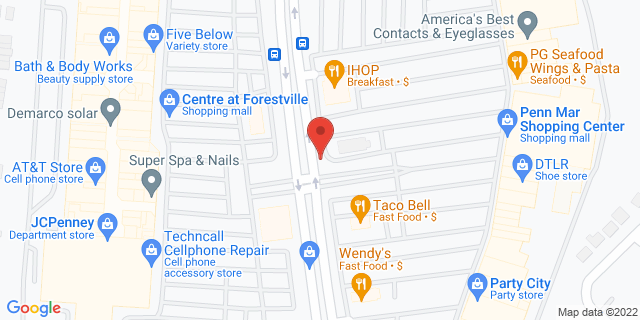 ACE Cash Express Forestville 3234 Donnell Dr 20747 on Map