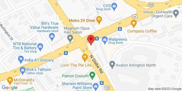 M&T Bank Arlington 4736 Lee Hwy 22207 on Map