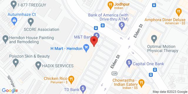 M&T Bank Herndon 1025 Herndon Pkwy 20170 on Map