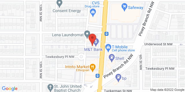 M&T Bank Washington 6434 Georgia Ave Nw 20012 on Map
