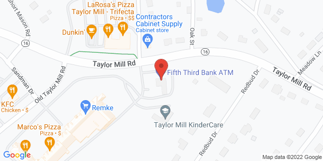 Fifth Third Bank Taylor Mill 5002 OLD TAYLOR MILL 41015 on Map