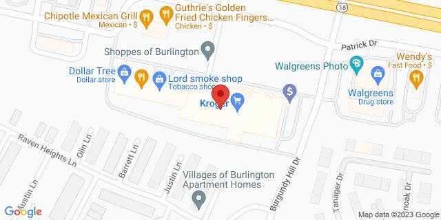 Fifth Third Bank Burlington 1751 PATRICK DRIVE 41005 on Map