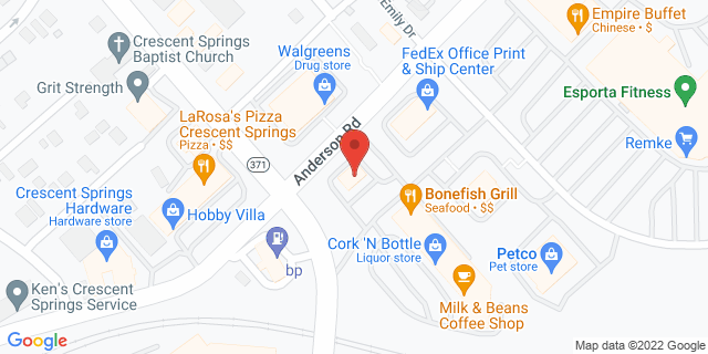 Fifth Third Bank Crescent Springs 590 BUTTERMILK PIKE 41017 on Map
