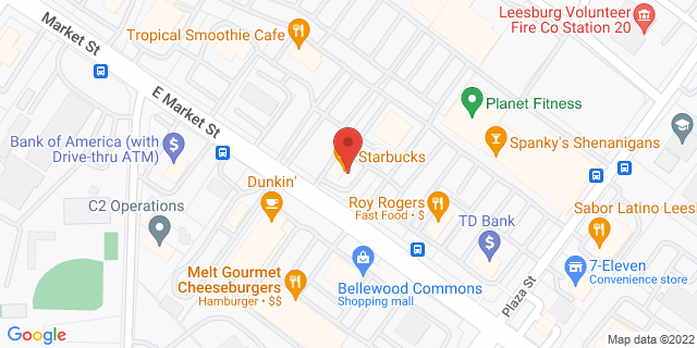 M&T Bank Leesburg 526 E Market St 20176 on Map