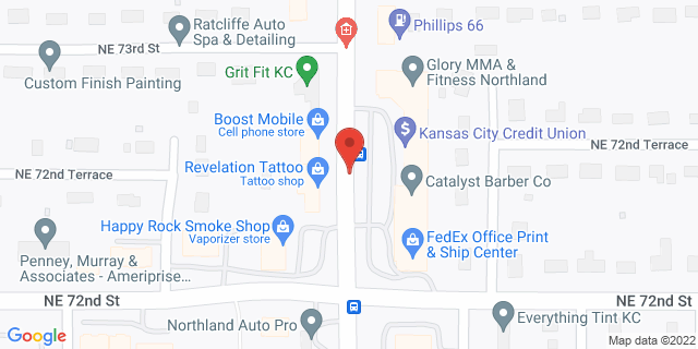 ACE Cash Express Gladstone 7257 N Oak Trfy 64118 on Map