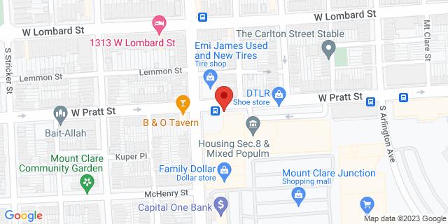 ACE Cash Express Baltimore 1251 W Pratt St 21223 on Map