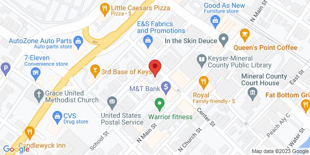 M&T Bank Keyser 67 N Main St 26726 on Map