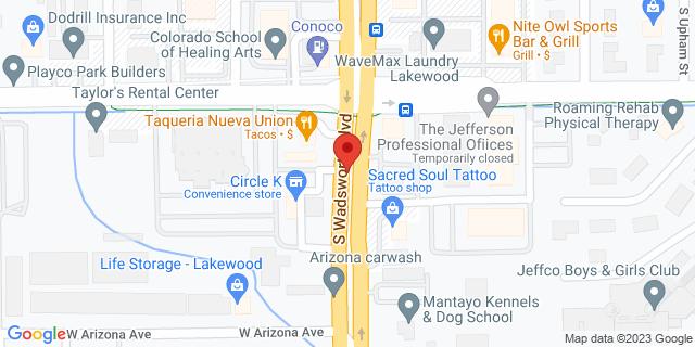 ACE Cash Express Lakewood 1105 S Wadsworth Blvd 80232 on Map