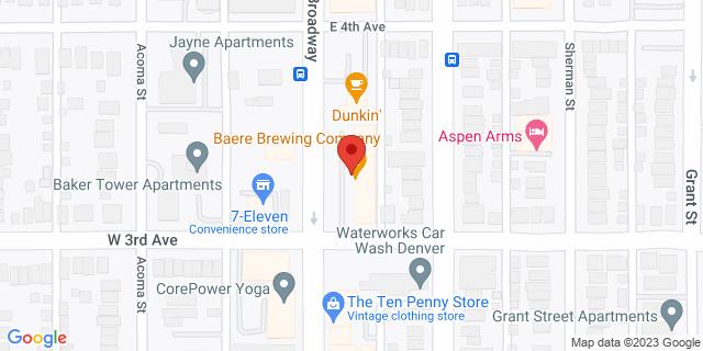 ACE Cash Express Denver 320 Broadway Ste J 80203 on Map