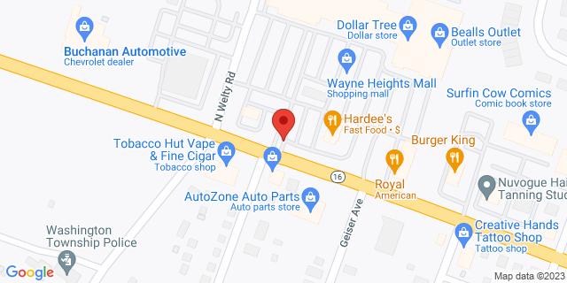 M&T Bank Waynesboro 1501 E Main St 17268 on Map
