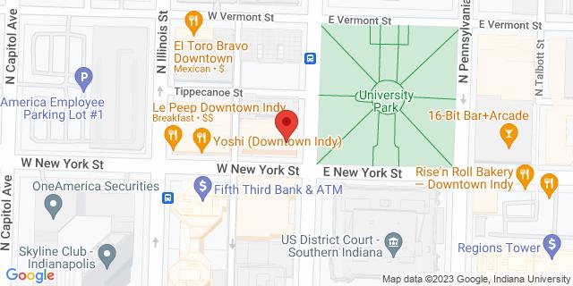 Wells Fargo Bank Indianapolis 300 N Meridian St, #1600 46204 on Map
