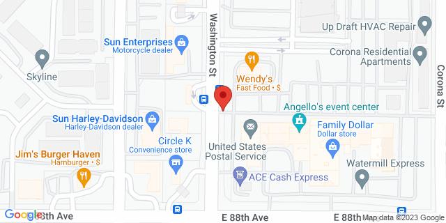ACE Cash Express Thornton 8800 Washington St 80229 on Map