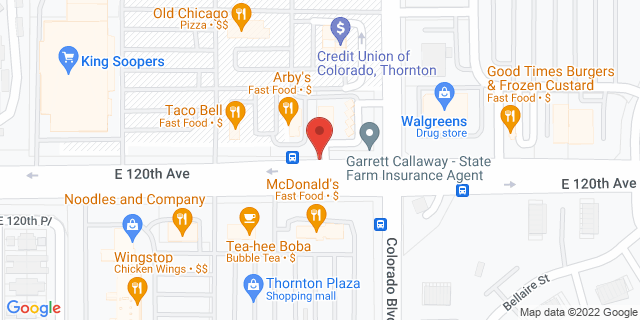 ACE Cash Express Thornton 3913 E 120th Ave Ste B 80233 on Map