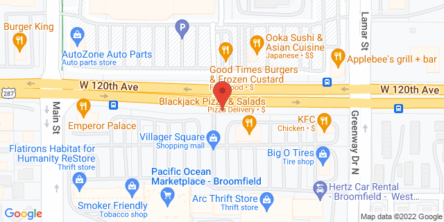 ACE Cash Express Broomfield 6570 W 120th Ave 80020 on Map
