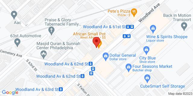 ACE Cash Express Philadelphia 6137 Woodland Ave 19142 on Map