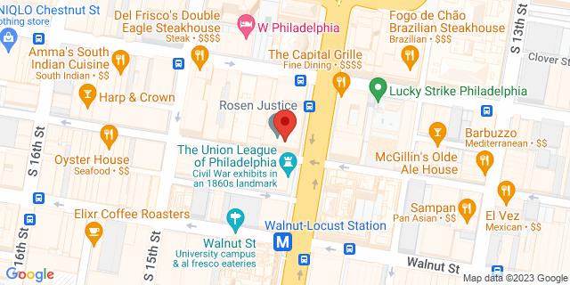 M&T Bank Philadelphia 1415 Sansom St 19102 on Map