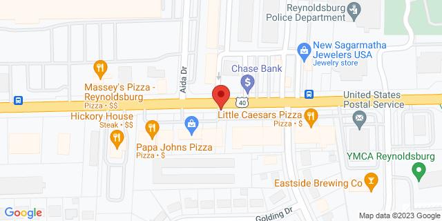 Checksmart Reynoldsburg 7113 E Main St 43068 on Map