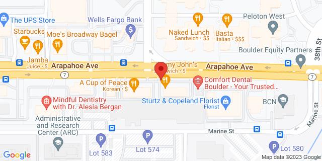 ACE Cash Express Boulder 3350 Arapahoe Ave 80303 on Map