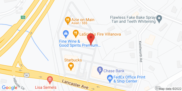 M&T Bank Villanova 797 E Lancaster Ave 19085 on Map