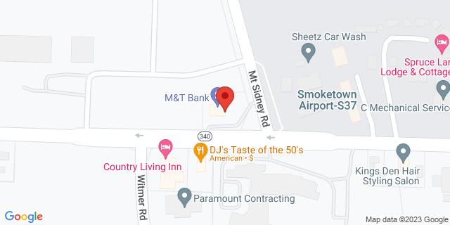 M&T Bank Lancaster 2421 Old Philadelphia Pike 17602 on Map