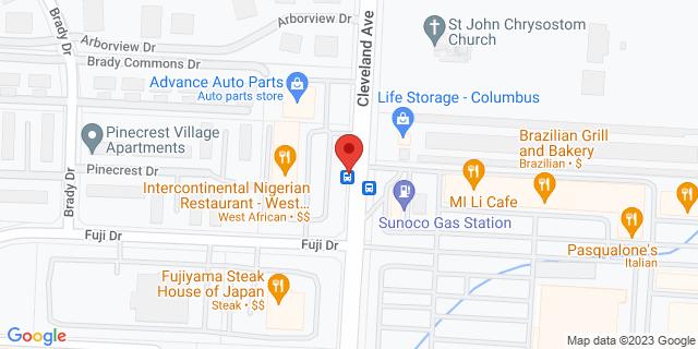 Checksmart Columbus 5783 Cleveland Ave 43229 on Map