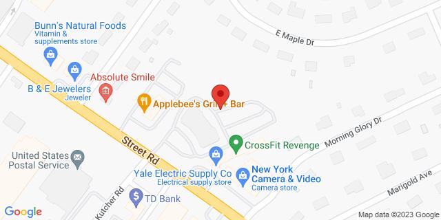 M&T Bank Southampton 1111 Street Rd, Ste 100 18966 on Map