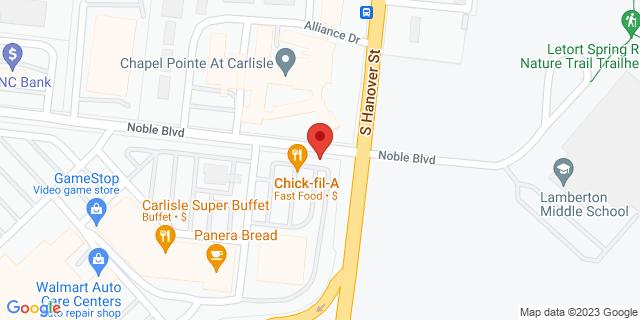Metro Bank Carlisle 20 Noble Blvd 17013 on Map