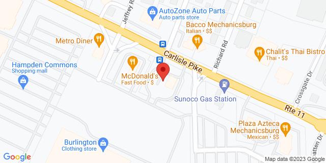 M&T Bank Mechanicsburg 5528 Carlisle Pike 17050 on Map