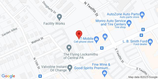 Metro Bank Lemoyne 1249 Market St 17043 on Map