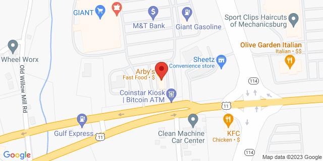 M&T Bank Mechanicsburg 6560 Carlisle Pike, #500 17050 on Map