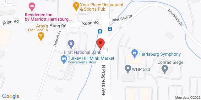 Metro Bank Harrisburg 2030 N Progress Ave 17110 on Map