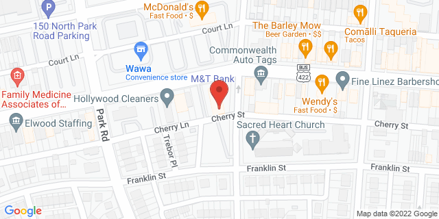 M&T Bank Wyomissing 800 Penn Ave 19610 on Map
