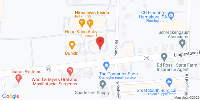 Metro Bank Harrisburg 4350 Linglestown Rd 17112 on Map