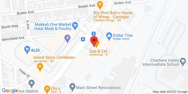 ACE Cash Express Carnegie 1059 Washington Ave 15106 on Map