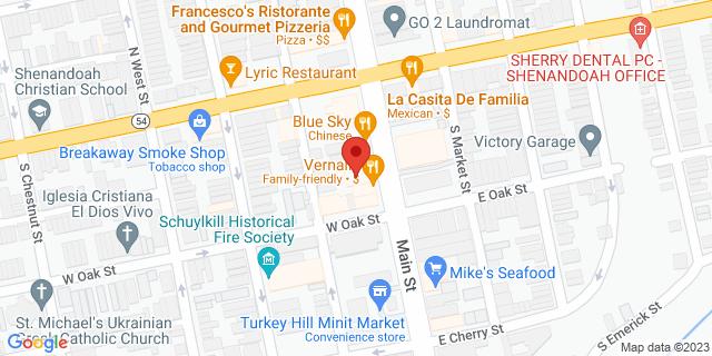 M&T Bank Shenandoah 28 S Main St 17976 on Map
