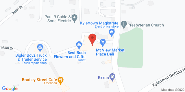 M&T Bank Kylertown 111 Rolling Stone Rd 16847 on Map