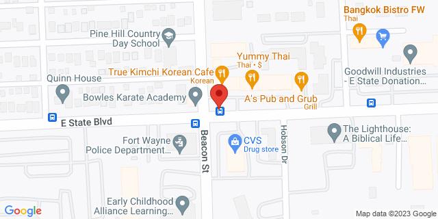 Checksmart Fort Wayne 2839 E State Blvd 46805 on Map
