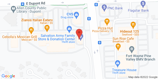 Fifth Third Bank Fort Wayne 720 EAST DUPONT ROAD 46825 on Map