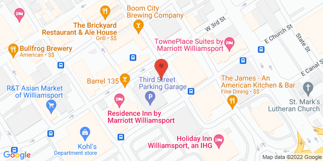 M&T Bank Williamsport 101 W 3rd St 17701 on Map
