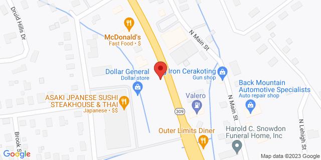 M&T Bank Shavertown 1926 N Memorial Hwy 18708 on Map