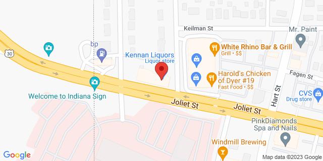 Fifth Third Bank Dyer 37 JOLIET 46311 on Map