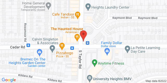 ACE Cash Express Cleveland Heights 2167 S Taylor Rd 44118 on Map