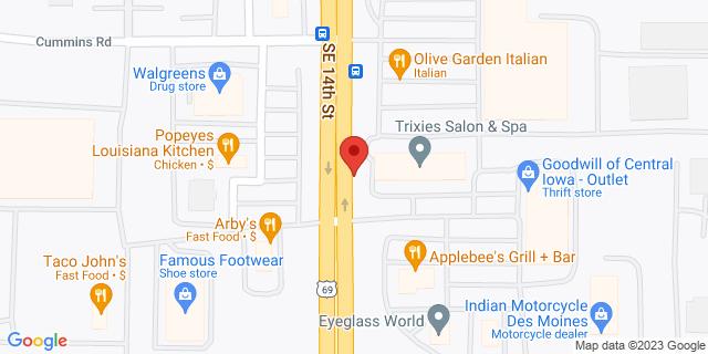 ACE Cash Express Des Moines 6213 SE 14th St 50320 on Map